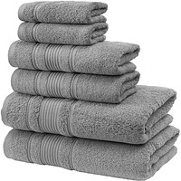 Bathroom Towels, Soft and Absorbent Turkish Towels, Set Includes 2 Bath