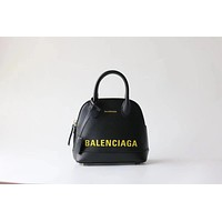 BALENCIAGA WOMEN'S LEATHER SMALL HANDBAG INCLINED SHOULDER BAG