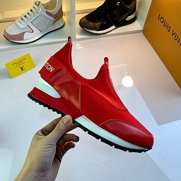 lv louis vuitton womans mens 2020 new fashion casual shoes sneaker sport running shoes 256