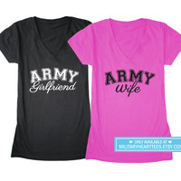 Custom Army shirt, Army wife shirt, Army girlfriend tshirt, Army sister shirt, Army mom shirt, Army tshirt, I love my soldier, Army clothing