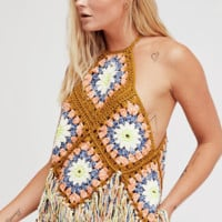 Women's Free People Summer of Love Crocheted Halter