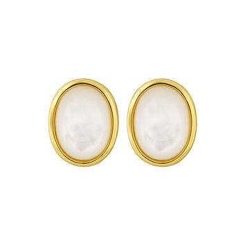 Mother Of Pearl Mirage Studs