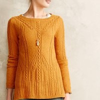 Cablerun Pullover by Sparrow