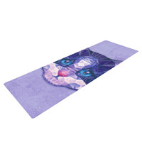 "Ancello ""Cute Kitten"" Purple Cat Yoga Mat"