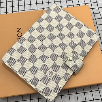 Louis Vuitton New Soft Leather Notebook Business Office Study Memo Notebook