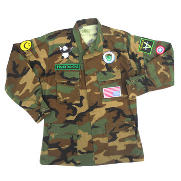 Woodland Camouflage Jacket - United States Military x American Anarchy Brand