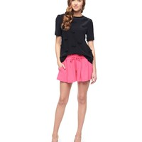 Washed Silk Short by Juicy Couture