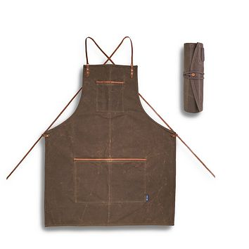 Journeyman Lightweight Apron + Utility Roll Gift Set