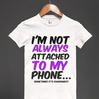 ATTACHED TO MY PHONE