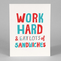buyolympia.com: Will Bryant - Work Hard and Eat a Lot of Sandwiches