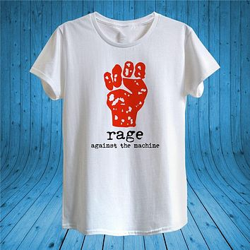 Rage Against The Machine T Shirt Design Unisex Man Women Fitted High Quality Tee Shirt|T-Shirts