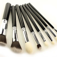 Hot Sale Beauty Make-up On Sale Hot Deal Silver Make-up Brush [9647071503]