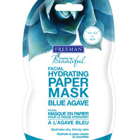 Blue Agave Hydrating Facial Paper Mask  :: Freeman Beauty