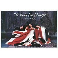The Who The Kids Are Alright Union Jack Poster 24x36
