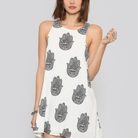 HAMSA MINI DRESS