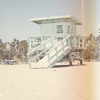 California Santa Monica Beach Instant Download Photography Download Lifeguard DIY ART dorm Bohemian Decor Surfer Tropical los angeles
