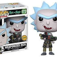 Funko Pop A. Rick and Morty Weaponized Rick 12439 Chase