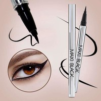 MAx Black Waterproof Beauty Liquid Eyeliner
