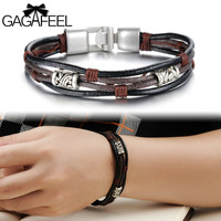 Gagafeel Trendy Metal Gold Plated Rope Chain For Men Ob855