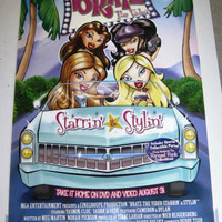 Bratz the Video Movie Poster 27x40 Used