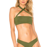 F E L L A Roy Top in Olive