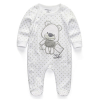 Baby Clothing  Newborn Baby Boy Girl Romper Clothes Long Sleeve Infant Product