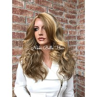 "Tonya 14"" Blond Mix Lace Front Wig"
