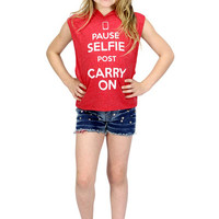 Dirtee Hollywood Pause Selfie Carry On Top | Mod Angel