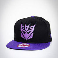 Decepticon Snap Back Flatbill Hat