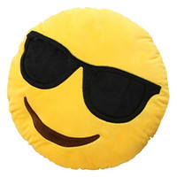 Emoji Sunglasses Pillow