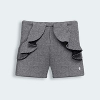 BABY DIOR HOUNDSTOOTH JERSEY SHORTS