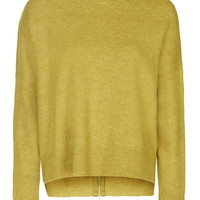 Zip Back Roll Neck Jumper - Sweaters & Knits - Clothing