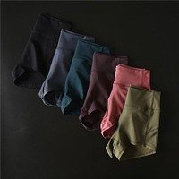 Women's Active Fitness Jogger Sports Shorts High Waist Compression Running Workout Shorts Slim Tummy Control Gym Athletic Shorts