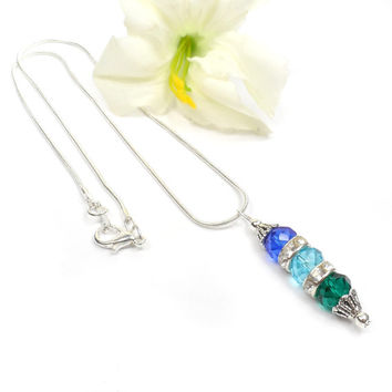 Mothers Birthstone Jewelry: Personalized Necklaces, Mothers Day Gift For Mom - Grandma