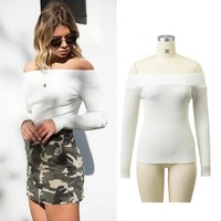 2017 autumn and winter women fashion solid color  [31068880922]