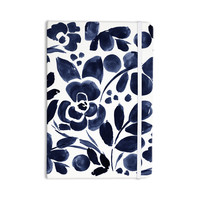 """Crystal Walen """"Watercolor Floral"""" - Navy Painting Everything Notebook"""