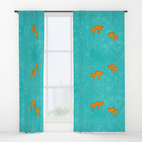 Aquarium for two Window Curtains by edrawings38