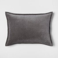 Velvet Lumbar Pillow - Threshold™