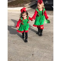 New Christmas The Grinch Funny Face  Christmas Sleeveless  Dress CH