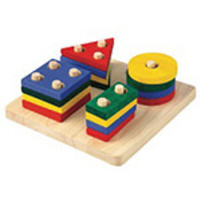 Plan Toys Learning Toys Geometric Sorting Board - 2+ years