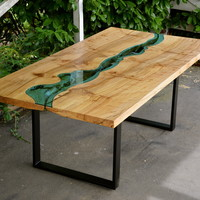 elm river dining table