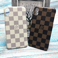 LV Louis Vuitton Trending Men iPhone Phone Cover Case For iphone 6 6s 6plus 6s-plus 7 7plus iPhone X XR XS XS MAX