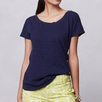 Breezy Ballet Tee by Pure + Good Navy S Tops