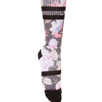 Stance Garden Punk Crew Socks - Womens Scarves - Floral - One