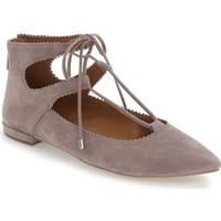 Arturo Chiang 'Kadence' Pointy Toe Ghillie Flat (Women) | Nordstrom