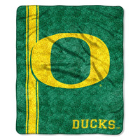Oregon Ducks NCAA Sherpa Throw (Jersey Series) (50in x 60in)