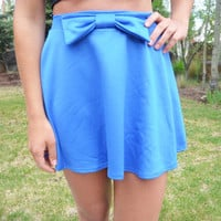 Bow Out Skater Skirt