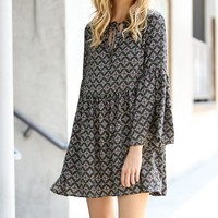 Danni Bell Sleeved Dress