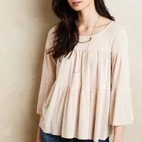 Maisie Peasant Top by Sunday in Brooklyn Neutral