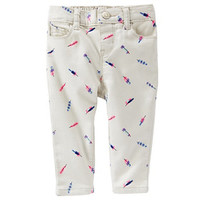 Baby Girl OshKosh B'gosh® Feather Twill Pants